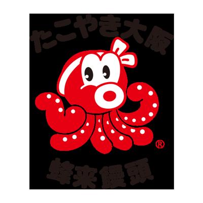たこ焼き大阪,蜂来饅頭,ロゴ,